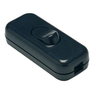 Interruptor paso 2a-250v negro